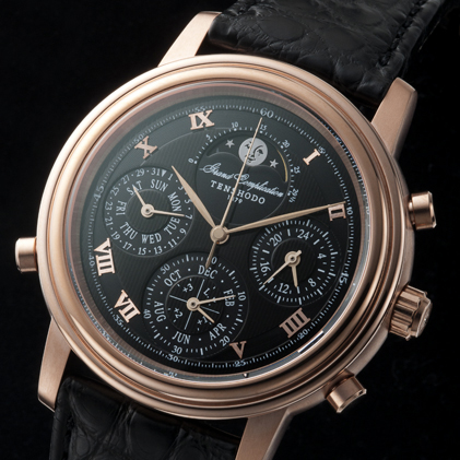 Grand Complication Pink Gold Black Face
